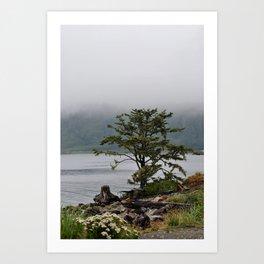 Foggy Mornings in La Push Art Print