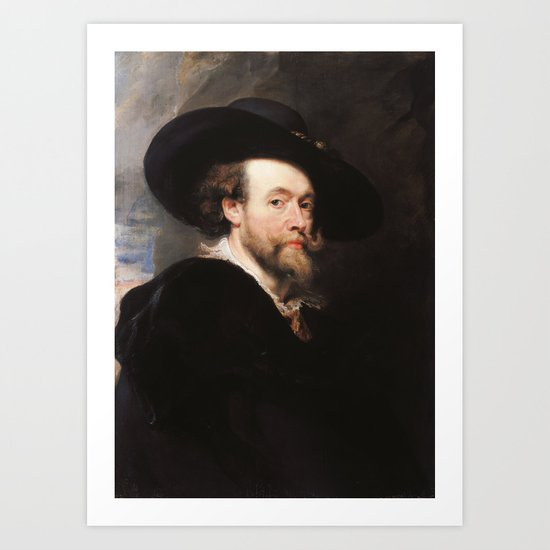Peter Paul Rubens - Portrait of the Artist by artmasters