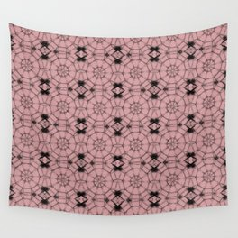 Bridal Rose Pinwheels Wall Tapestry