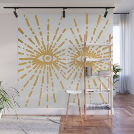 Starry Eyed Wall Mural
