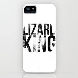 Lizard King iPhone Case