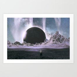 Stare Into An Abyss Art Print