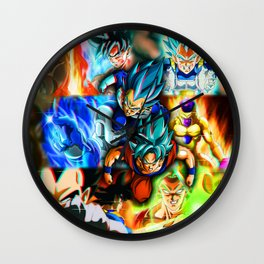 fighter universe Wall Clock