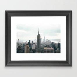 Top of the Rock Framed Art Print