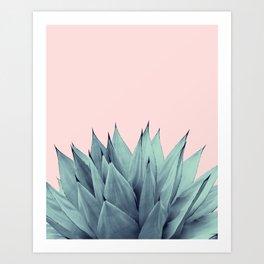 Agave Vibes #12 #tropical #decor #art #society6 Art Print