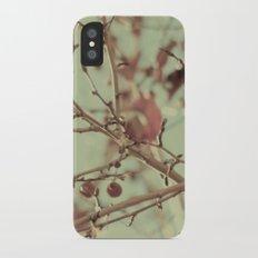 VINTAGE NATURE II iPhone X Slim Case