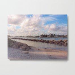 Winter Afternoon, Jupiter Inlet Lighthouse Metal Print