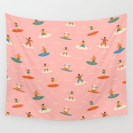 Surf kids Wall Tapestry