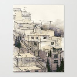 Armenian Rooftops Canvas Print