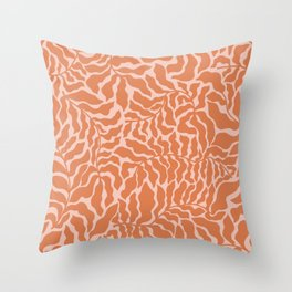 Abundance | Orange & Pink Throw Pillow
