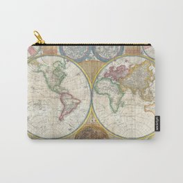 General Map of the World by by Samuel Dunn and Thomas Kitchin (1794) Carry-All Pouch
