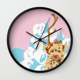Merry Grinchmas Wall Clock