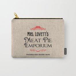 Mrs. Lovett's Meat Pie Emporium (Sweeney Todd) Carry-All Pouch