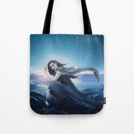 Fantasy Warrior Valkyrie Tote Bag