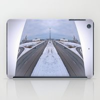 cityscape iPad Cases featuring Cityscape by Irfan Gillani