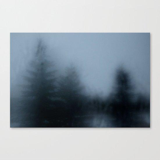 Blurry Canvas Print