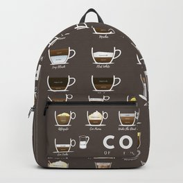 Coffee Chart Backpack