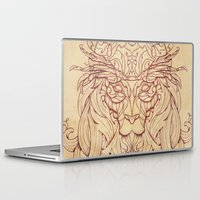 crab Laptop & iPad Skins featuring Lion Crab by Mike Koubou
