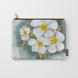 Watercolour Wildflower Carry-All Pouch