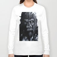 gorilla Long Sleeve T-shirts featuring Gorilla by rchaem