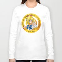 sailor venus Long Sleeve T-shirts featuring Sailor Venus - Crystal Intro by Yue Graphic Design