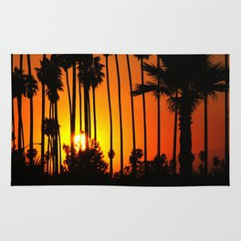 Striped Sunset Rug