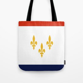 flag of new orleans,NOLA,Crescent City,Big Easy,Nawlins, jazz,Lousiana,french,cajun,treme Tote Bag