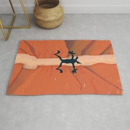 "The Fall ""oh such a perfect day"" Rug"