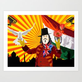 For the Benefit of Enoch Powell Art Print