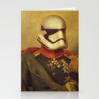 stormtrooper Stationery Cards featuring Stormtrooper  by Alex Malyon