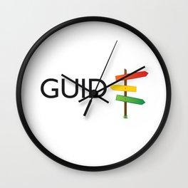 GUIDE Wall Clock