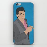 seinfeld iPhone & iPod Skins featuring Cosmo Kramer // Seinfeld // Graphic Design by Dick Smith Designs