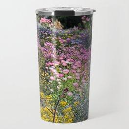 Wildflowers by Day Travel Mug