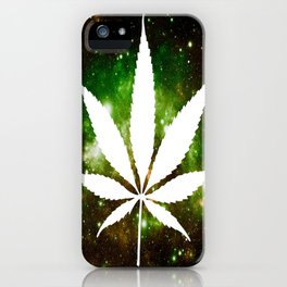 Weed : High Times Galaxy iPhone Case