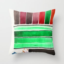8-bit Migraine Throw Pillow