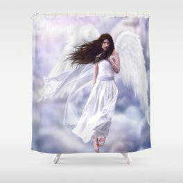Some Clouds Have Wings Shower Curtain