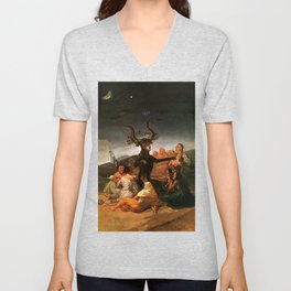 The Sabbath of witches - Goya Unisex V-Neck