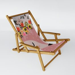 Easter Fox Sling Chair
