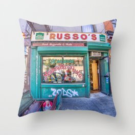 Russo's Throw Pillow