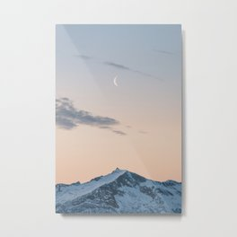 My Dear Friend Moon - Landscape and Nature Photography Metal Print