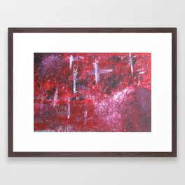 Lost in the Music Framed Art Print