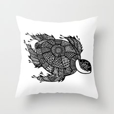 Urashima Taro Turtle Throw Pillow