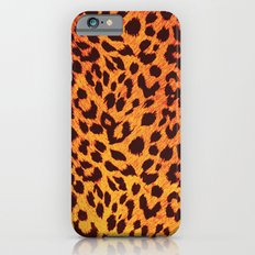 Leopard Pattern iPhone 6s Slim Case