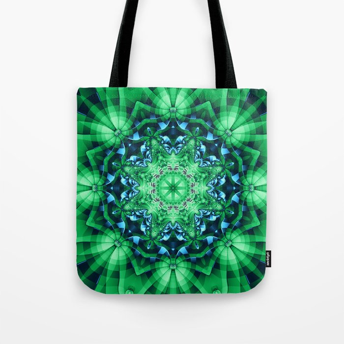 Patterns in a Kaleidoscope Tote Bag