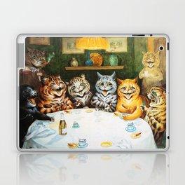 Kitty Happy Hour - Louis Wain's Cats Laptop & iPad Skin