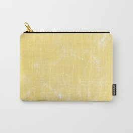 Flaxen Yellow Carry-All Pouch
