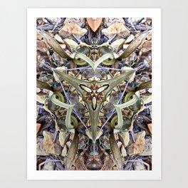 Magnified No 1 Art Print