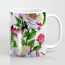 Vintage Floral Pattern No. 10 Coffee Mug