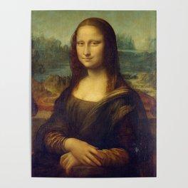Classic Art - Mona Lisa - Leonardo da Vinci Poster