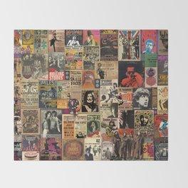 Rock'n Roll Stories Throw Blanket